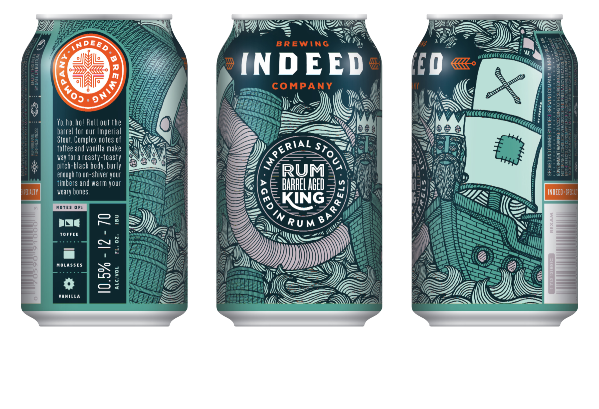 Rum King is Coming – In a Can! | Indeed Brewing Company